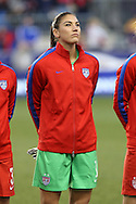 26 October 2014: Hope Solo (USA). The United States Women's National Team played the Costa Rica Women's National Team at PPL Park in Chester, Pennsylvania in the 2014 CONCACAF Women's Championship championship game. By advancing to the final, both teams have qualified for next year's Women's World Cup in Canada. The United States won the game 6-0.