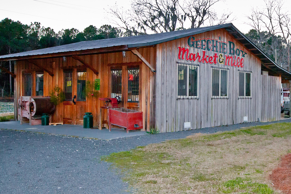 Geechie Boy Market and Mill sits on South Carolina highway 174 in Edisto Island.
