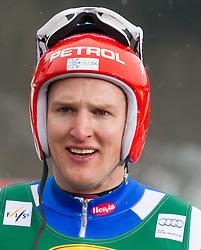 Andrej Sporn during the 2nd Run of 7th Men's Giant Slalom - Pokal Vitranc 2013 of FIS Alpine Ski World Cup 2012/2013, on March 9, 2013 in Vitranc, Kranjska Gora, Slovenia. (Photo By Vid Ponikvar / Sportida.com)