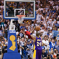 14 June 2009: Kobe Bryant of the Los Angeles Lakers is seen at the free throw line during game 5 of the 2009 NBA Finals won 99-86 by the Los Angeles Lakers over the Orlando Magic at Amway Arena, in Orlando, Florida, USA. Kobe Bryant scores 30 points and leads the Lakers to15th Championship.