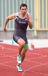 Gregor Kokalovic during men 100 m at Slovenian National Championships in athletics 2010, on July 17, 2010 in Velenje, Slovenia. (Photo by Vid Ponikvar / Sportida)