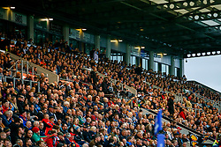 A general view of Sandy Park Stadium  during the game - Mandatory by-line: Ryan Hiscott/JMP - 13/10/2018 - RUGBY - Sandy Park Stadium - Exeter, England - Exeter Chiefs v Munster Rugby - European Rugby Champions Cup