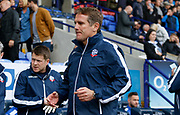 Phil Parkinson Manager of Bolton Wanderers during the EFL Sky Bet Championship match between Bolton Wanderers and Middlesbrough at the Macron Stadium, Bolton, England on 9 September 2017. Photo by Paul Thompson.