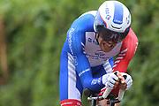 Thibaut Pinot (FRA - Groupama - FDJ) during the 101th Tour of Italy, Giro d'Italia 2018, stage 16, Trento - Rovereto 34.5 km on May 22, 2018 in Italy - Photo Ilario Biondi / BettiniPhoto / ProSportsImages / DPPI