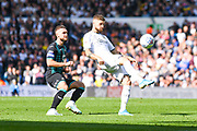 Leeds United midfielder Mateusz Klich (43) passes the ball during the EFL Sky Bet Championship match between Leeds United and Swansea City at Elland Road, Leeds, England on 31 August 2019.