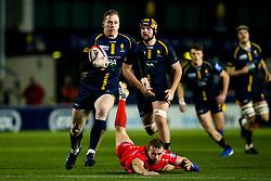 Scott van Breda of Worcester Cavaliers - Mandatory by-line: Robbie Stephenson/JMP - 25/11/2019 - RUGBY - Sixways Stadium - Worcester, England - Worcester Cavaliers v Sale Jets - Premiership Rugby Shield