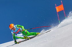 Naralocnik Nejc from Slovenia during the downhill of Open National Championship of Slovenia 2019, on March 30, 2019, on Krvavec, Slovenia. Photo by Urban Meglic / Sportida