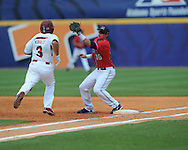 Mississippi vs. South Carolina during the Southeastern Conference tournament at Regions Park in Hoover, Ala. on Wednesday, May 26, 2010. (AP Photo/Oxford Eagle, Bruce Newman)