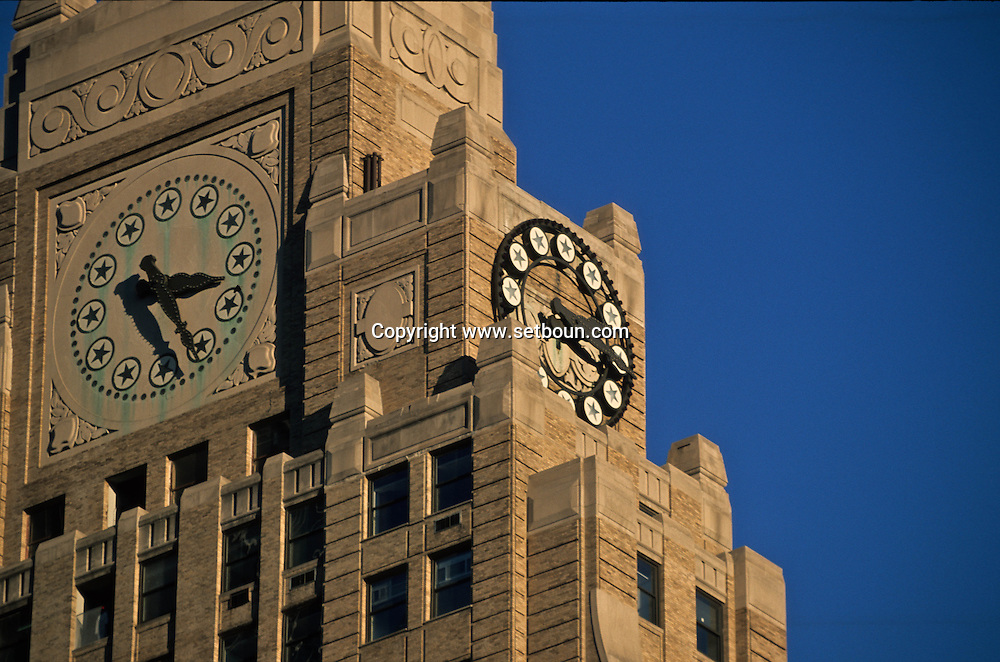 New York. Times square , Paramount building  in Times square