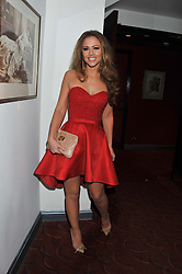 KIMBERLEY WALSH at the What's On Stage Awards 2012 held at the Prince of wales Theatre, London on 19th February 2012.