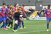 Michael Gash of Barnet scores his second goal during the Sky Bet League 2 match between Barnet and Dagenham and Redbridge at Hive Stadium, London, England on 26 September 2015. Photo by Ian Lyall.