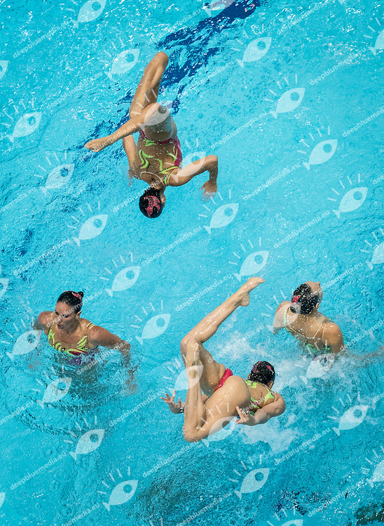 Italy ITA<br /> Synchro Team Free Final<br /> 32nd LEN European Championships <br /> Berlin, Germany 2014  Aug.13 th - Aug. 24 th<br /> Day04 - Aug. 16<br /> Photo P. Mesiano/Deepbluemedia/Inside