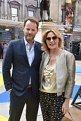 Russell Thomas and Kim Cattrall at the Royal Academy Of Arts Summer Exhibition Preview Party 2018 held at The Royal Academy, Burlington House, Piccadilly, London, England. 06 June 2018.