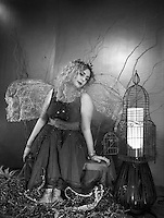 Creative - Conceptual Fairy Shoot with Emily.  ©2016 Karen Bobotas Photographer