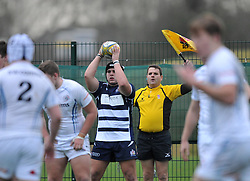 Will Capon – BGS of Bristol Academy U18 - Mandatory by-line: Paul Knight/JMP - 07/01/2017 - RUGBY - SGS Wise Campus - Bristol, England - Bristol Academy U18 v Exeter Chiefs U18 - Premiership U18 League