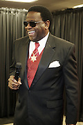 Al Green in the Media Room at The 2009 Essence Music Festival held at The Superdome in New Orleans, Louisiana on July 5, 2009