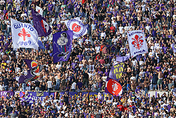 April 29, 2018 - Florence, Italy - Fiorentina supporters during the Serie A match between ACF Fiorentina and SSC Napoli at Stadio Artemio Franchi on April 29, 2018 in Florence, Italy. (Credit Image: © Matteo Ciambelli/NurPhoto via ZUMA Press)