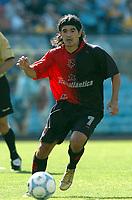 Fotball<br /> Argentina 2004/05<br /> Newells Old Boys v Rosario<br /> Buenos Aires<br /> 28. november 2004<br /> Foto: Digitalsport/Sebastiao de Souza<br /> NORWAY ONLY<br /> Ariel Ortega, Newells