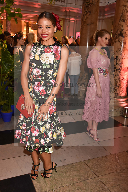 "Viscountess Weymouth at the opening of ""Frida Kahlo: Making Her Self Up"" Exhibition at the V&A Museum, London England. 13 June 2018."