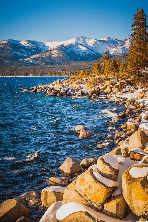 Lake Tahoe, Sand Harbor, Winter