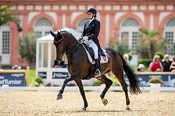 REEF Sophie (GER), Charming Lady<br /> Wiesbaden - Longines Pfingstturnier 2019<br /> Preis der Liselott-Schindling-Stiftung<br /> Piaff-Förderpreis-Wertungsprüfung <br /> Nat. Dressurprüfung Kl. S mit Piaffe und Passage<br /> 10. Juni 2019<br /> © www.sportfotos-lafrentz.de/Stefan Lafrentz