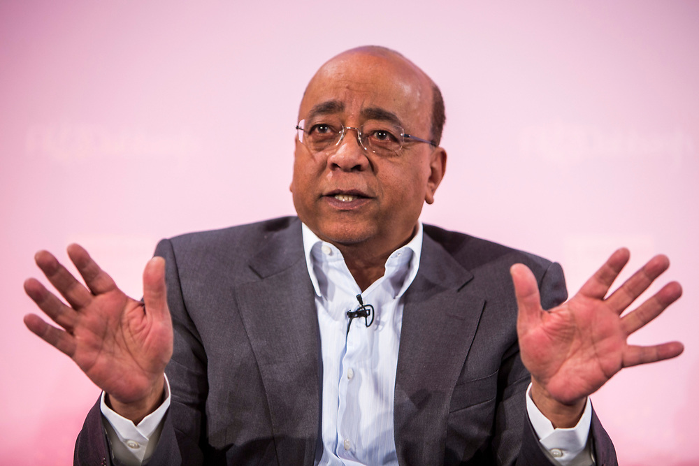 Dr Mohamed 'Mo' Ibrahim, Founder & Chair of the Mo Ibrahim Foundation. The 2014 Stars Foundation Philanthropreneurship Forum, Regents Park, London.