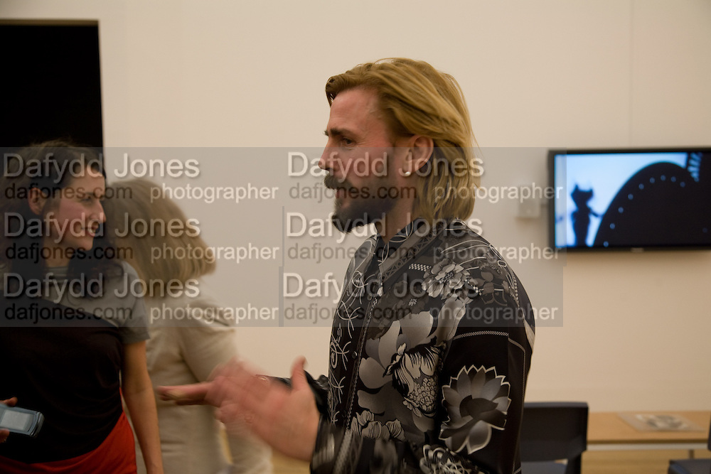 LIZZIE CARY-THOMAS; MARK LECKEY, 2008 Turner Prize Award. Tate Millbank. London. 1 December 2008 *** Local Caption *** -DO NOT ARCHIVE -Copyright Photograph by Dafydd Jones. 248 Clapham Rd. London SW9 0PZ. Tel 0207 820 0771. www.dafjones.com