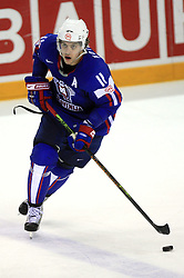 Anze Kopitar of Slovenia at ice-hockey game Slovenia vs Slovakia at Relegation  Round (group G) of IIHF WC 2008 in Halifax, on May 09, 2008 in Metro Center, Halifax, Nova Scotia, Canada. Slovakia won 5:1. (Photo by Vid Ponikvar / Sportal Images)