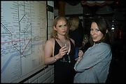 THEA BABINGTON-STITT; KALINA BABINGTON-STITT, Cahoots club launch party, 13 Kingly Court, London, W1B 5PW  26 February 2015