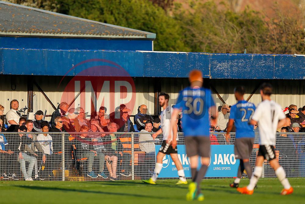 Fans look on - Mandatory by-line: Rogan Thomson/JMP - 13/07/2016 - SPORT - Football - Woodspring Stadium - Weston-super-Mare, England - Weston-super-Mare AFC v Bristol Rovers - Pre Season Friendly.