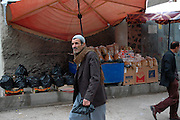street scene in the old town of Dijarbakir
