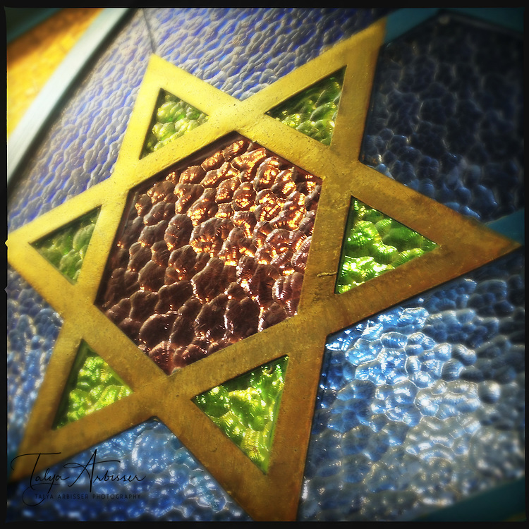 Stained glass star - Tel Aviv, Israel