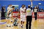 DESCRIZIONE : Milano Lega A 2008-09 Armani Jeans Milano Air Avellino<br /> GIOCATORE : David Hawkins Arbitro<br /> SQUADRA : Armani Jeans Milano<br /> EVENTO : Campionato Lega A 2008-2009<br /> GARA : Armani Jeans Milano Air Avellino<br /> DATA : 15/03/2009<br /> CATEGORIA : Ritratto Delusione<br /> SPORT : Pallacanestro<br /> AUTORE : Agenzia Ciamillo-Castoria/G.Cottini