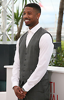 Michael B. Jordan,.actor, at the Fruitvale Station film photocall at the Cannes Film Festival 16th May 2013