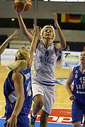 Taranto 04-06-2011<br /> Qualifying Tournament Eurobasket Women 2011<br /> Italia-Serbia<br /> Nella foto Sabrina Cinili<br /> Foto di Ciamillo-Castoria