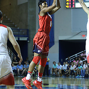 United States Forward Angel McCoughtry (8) attempts a jump shot in the first half of a USA Women's National Team Exhibition game between Red and White Thursday, Sept. 11, 2014 at The Bob Carpenter Sports Convocation Center in Newark, DEL