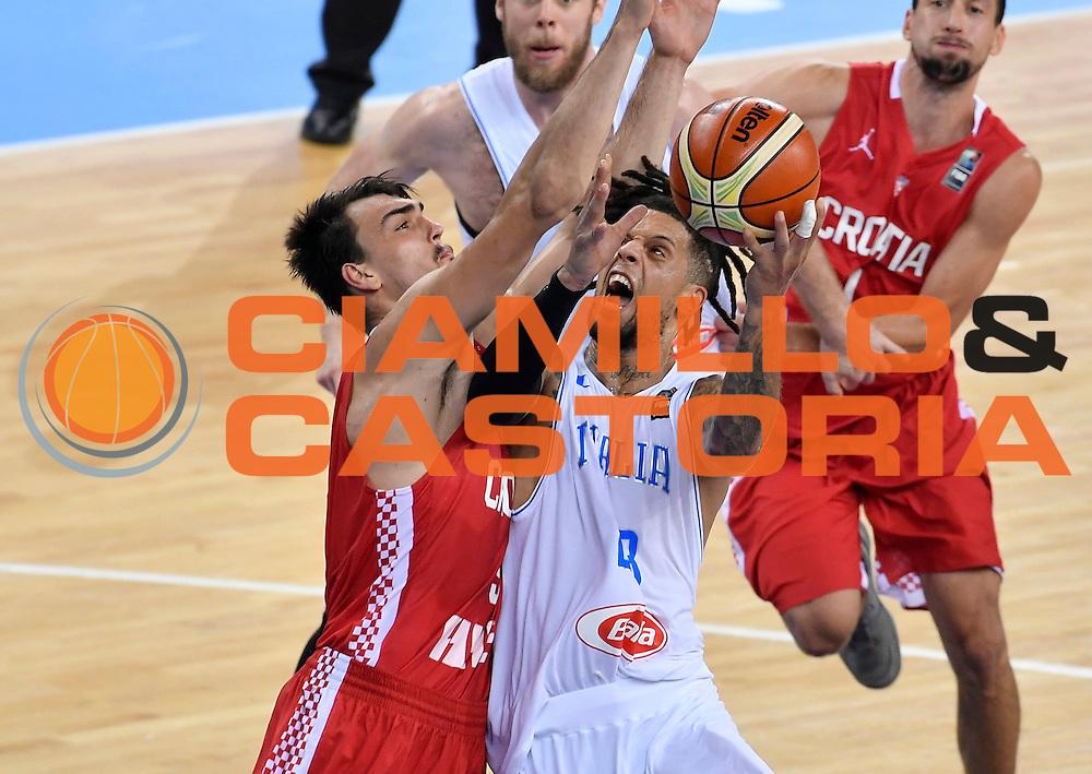 DESCRIZIONE: Torino FIBA Olympic Qualifying Tournament Italia - Croazia<br /> GIOCATORE: DANIEL HACKETT<br /> CATEGORIA: Nazionale Italiana Italia Maschile Senior<br /> GARA: FIBA Olympic Qualifying Tournament Italia - Croazia<br /> DATA: 05/07/2016<br /> AUTORE: Agenzia Ciamillo-Castoria