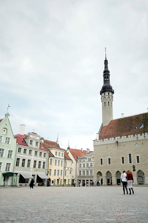 Tallin's Old Town main square