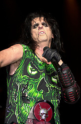 Alice Cooper DragonTown/ Monsters of Rock Festival. Last night of an eleven date tourat the Hallam FM Arena, SheffieldTuesday 26th Nov<br />