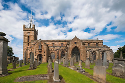 Church at Linlithgow Palace in Scotland, United Kingdom