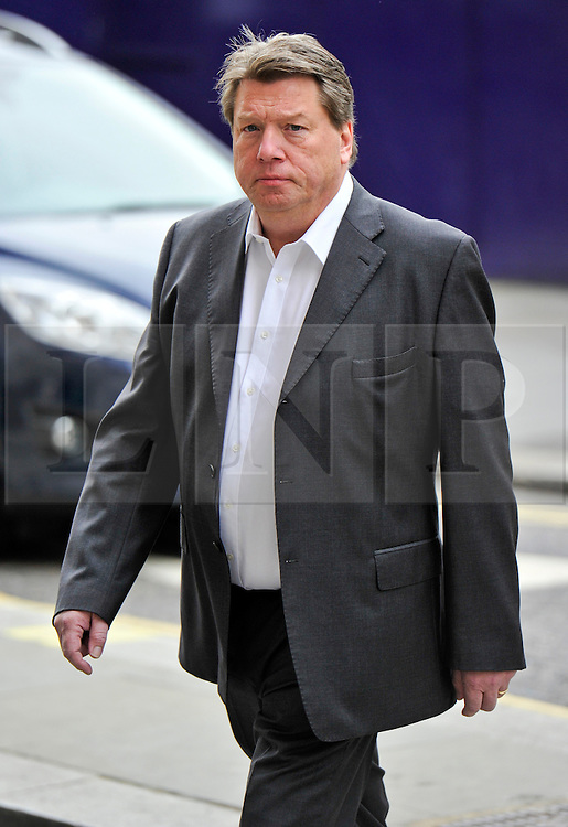 © Licensed to London News Pictures. 26/06/2013. London, UK. ANTHONY PALLANT, who is accused of sexual offences against an underage girl along with former newspaper proprietor Eddy Shah, arrives at the Old Bailey. Photo credit : Mark Hemsworth/LNP