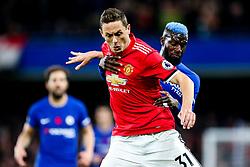 Nemanja Matic of Manchester United is challenged by Tiemoue Bakayoko of Chelsea - Rogan/JMP - 05/11/2017 - FOOTBALL - Stamford Bridge - London, England - Chelsea v Manchester United - Premier League.