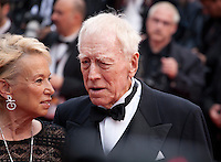 Catherine BreletActor Max Von Sydow at the gal and a screening for the film The BFG at the 69th Cannes Film Festival, Saturday 14th May 2016, Cannes, France. Photography: Doreen Kennedy
