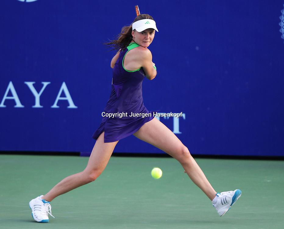 PTT Pattaya Open 2011,WTA Tennis Turnier,. International Series, Dusit Resort in Pattaya,.Thailand,Daniela Hantuchova (SVK)