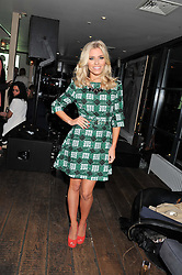 MOLLIE KING at the InStyle Best of British Talent Event in association with Lancôme and Avenue 32 held at The Rooftop Restaurant, Shoreditch House, Ebor Street, London E1 on 30th January 2013.