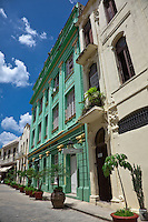 Old Havana has stunning architecture lining its cobblestone streets.