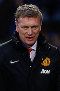David Moyes Manager of Manchester United during the Barclays Premier League match at Selhurst Park, London<br /> Picture by David Horn/Focus Images Ltd +44 7545 970036<br /> 22/02/2014