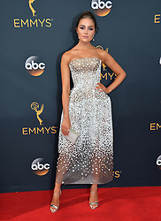 Olivia Culpo bei der Verleihung der 68. Primetime Emmy Awards in Los Angeles / 180916<br /> <br /> *** 68th Primetime Emmy Awards in Los Angeles, California on September 18th, 2016***