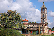 Church in San Miguel de los Banos, Cuba.