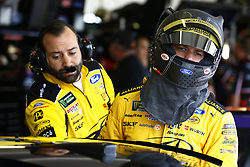 March 10, 2018 - Avondale, Arizona, United States of America - March 10, 2018 - Avondale, Arizona, USA: Brad Keselowski (2) hangs out in the garage during practice for the Ticket Guardian 500(k) at ISM Raceway in Avondale, Arizona. (Credit Image: © Chris Owens Asp Inc/ASP via ZUMA Wire)